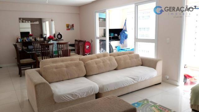 Apartamento com 3 dormitórios à venda, 131 m² por r$ 690.000 - jardim das indústrias - são - Foto 2