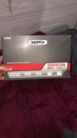 Placa de video XFX R7 360