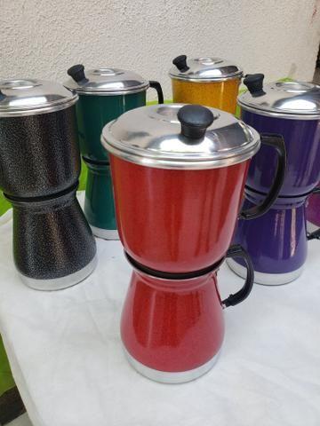 Cafeteira coloridas