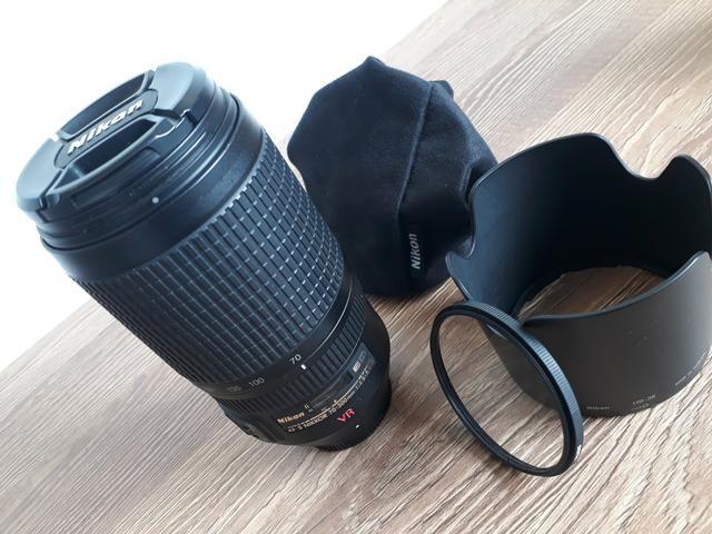 Nikon | Lente 70 300mm VR | Zoom - Foto 2