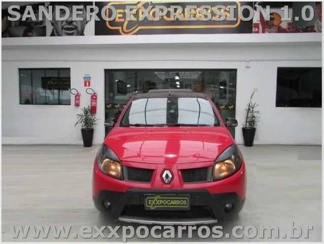 Renault Sandero Expression 1.0 Flex - Ano 2010 - Teto Solar - Bem Conservado - Foto 8