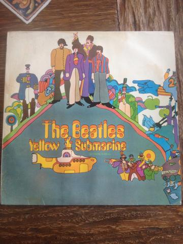 LP The Beatles Yellow Submarine disco vinil