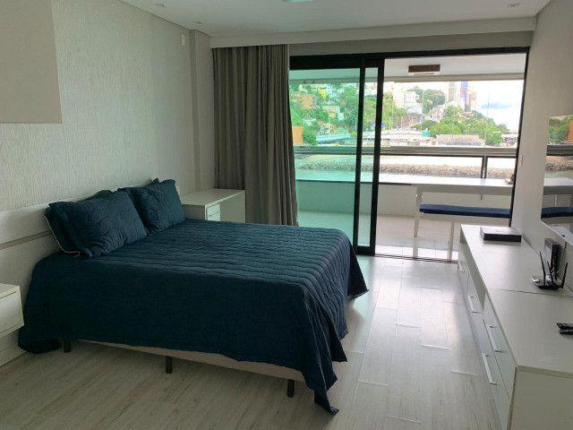 Apartamento Porto Trapiche 1 Quarto 94m2 Nascente Vista Mar Decorado Orla Contorno - Foto 13