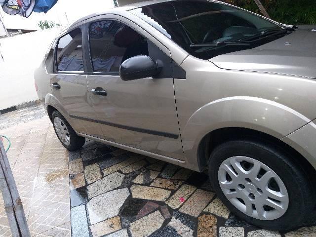 Ford Fiesta Sedan Completo IPVA Ok  - Foto 5
