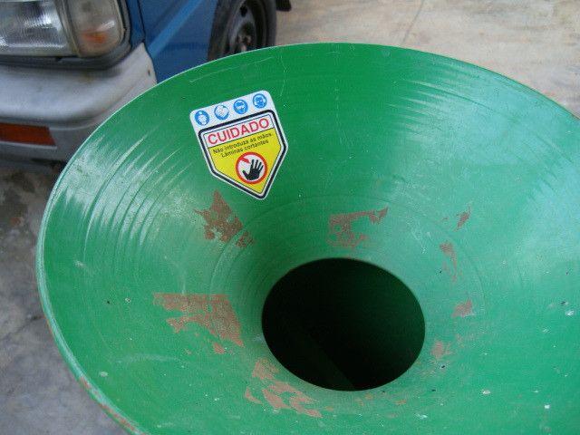 Triturador de resíduos orgânico Trapp TR 200 e Carreta Agrícola Tramontina 72x94 cm - Foto 3