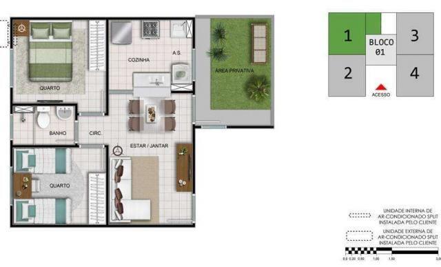 Residencial Atalaia- 39m²- Araraquara- SP- ID3782 - Foto 7