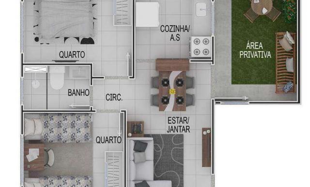 Portal Vila das Praias - Vila de Itapuã - Apartamento 2 quartos na Serra, ES - ID3926 - Foto 4