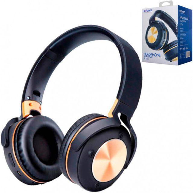 R$124,90 - Headphone Fone De Ouvido Exbom Hf-500bt Bluetooth Sem Fio - Foto 6