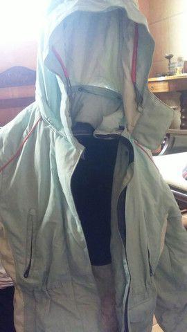 Conjunto para inverno, luvas, calça e jaqueta. - Foto 4