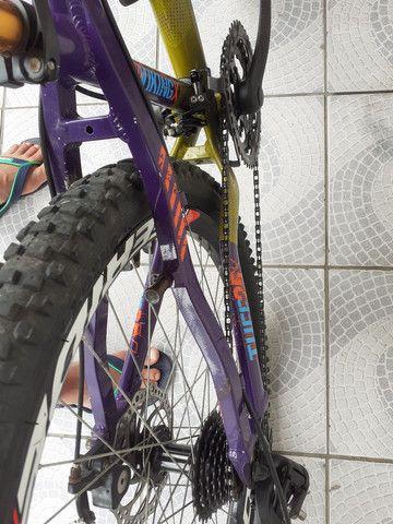 Bike aro26 vinkingx semi nova - Foto 5