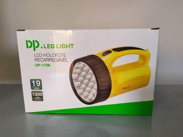 Lanterna Potente Recarregável - Foto 2