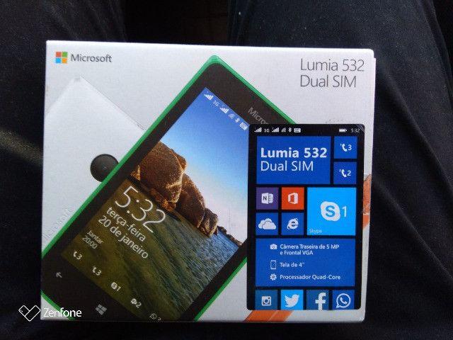 Microsoft Lumia Nokia 532 Dual Chip Aceito cartão