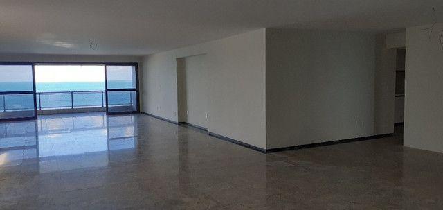 AL98 Apartamento 4 Suítes e Varandas, Varandão, 6 Wc, 3 Vagas, 405m², Beira Mar Boa Viagem