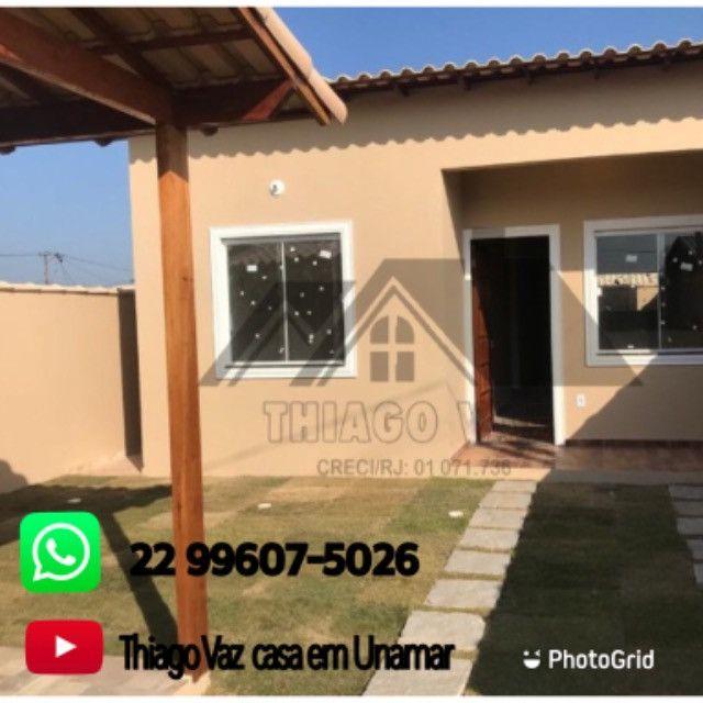 Casa com 02 quartos em Unamar