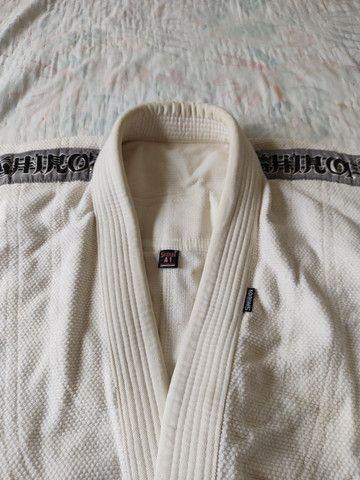 Kimono Shiroi Standard Trançado Best-oficial - Foto 3