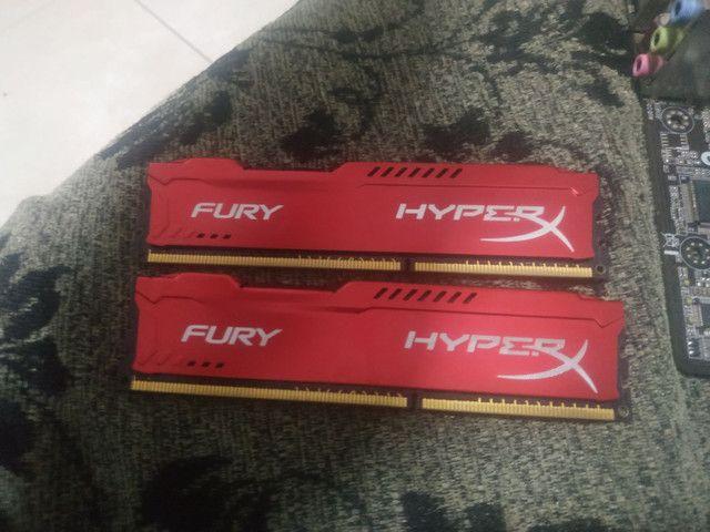 FX 8300 + Memória HyperX Fury(4+4) DDR3 1600Mhz