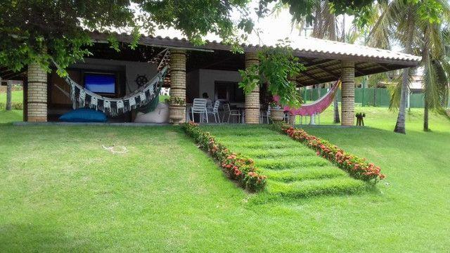Casa na Lagoa do Uruaú, 17.500m² de área total, condomínio fechado, piscina - Foto 9