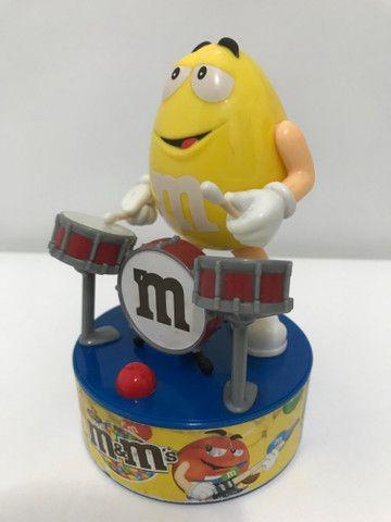Baterista e guitarrista M&M?s musical colecionável - Foto 3