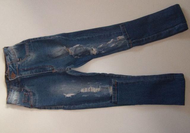 3 calça jeans  40,00 - Foto 4