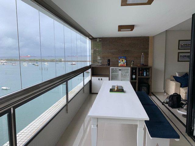 Apartamento Porto Trapiche 1 Quarto 94m2 Nascente Vista Mar Decorado Orla Contorno - Foto 6