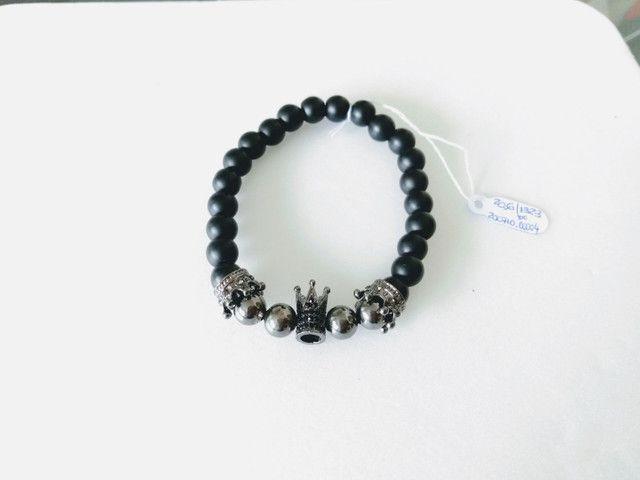 Bracelete Coroas Zircônia Bolinhas