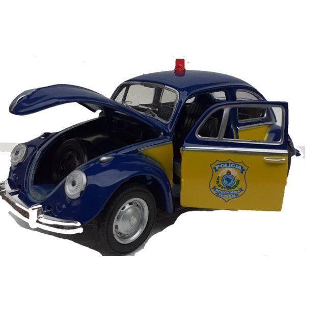 Miniatura Fusca Polícia Federal rodoviária  - Foto 4