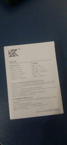 Fone KZ-EDX (seu primeiro fone de qualidade!) - Foto 2