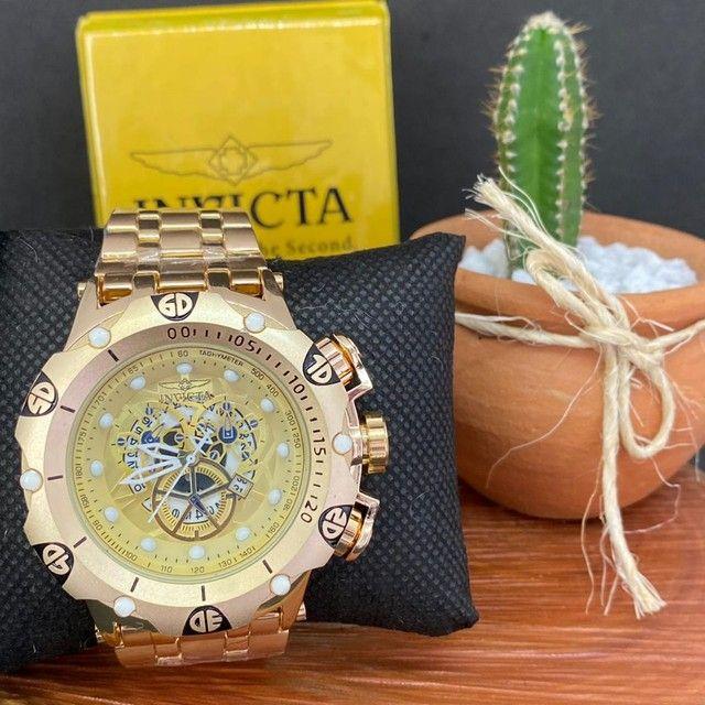 Relógio invicta masculino - Foto 3