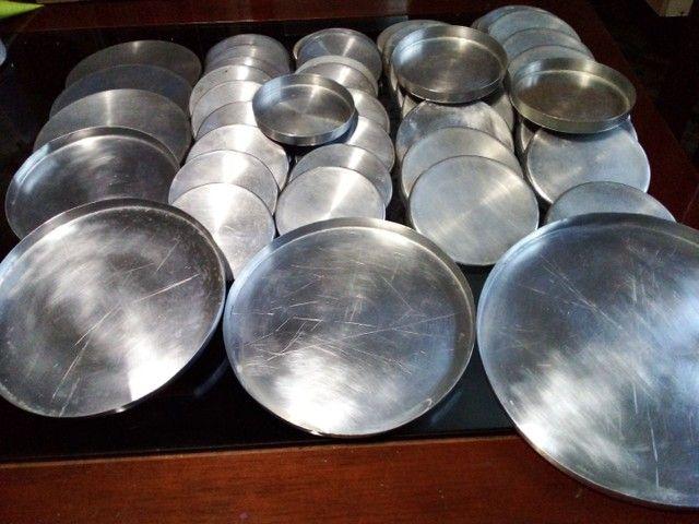 Forma de pizza de alumínio