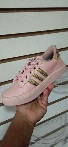 Vendo sapatênis Adidas e tênis Asics ( 110 com entrega) - Foto 3