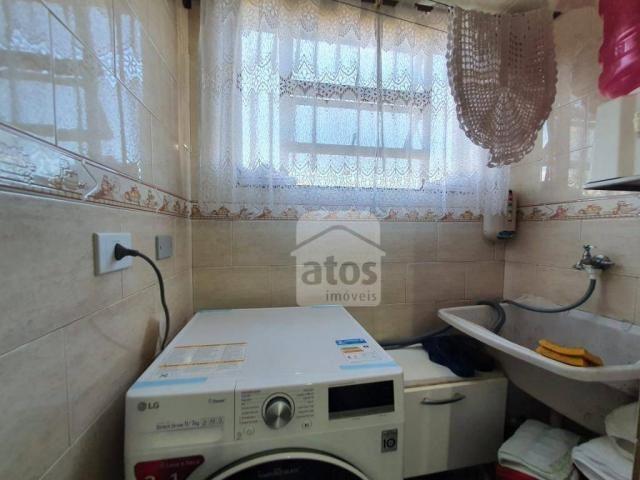 Apartamento com 3 dormitórios à venda, 52 m² por R$ 159.000,00 - Fazendinha - Curitiba/PR - Foto 12