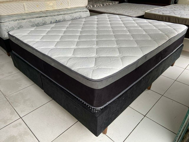 impecável cama queen size
