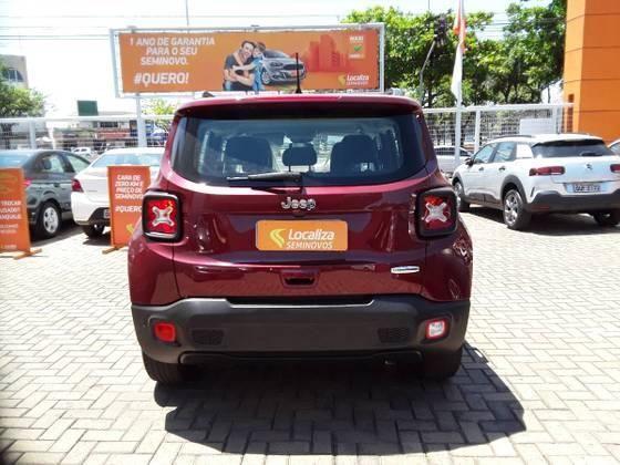 RENEGADE 2019/2019 1.8 16V FLEX LONGITUDE 4P AUTOMÁTICO - Foto 2