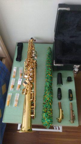 Sax Soprano Reto Eagle Super leve de tocar, excelente instrumento SP502 - Foto 4
