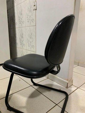 Cadeira de escritório com ou sem regulagem - Foto 5