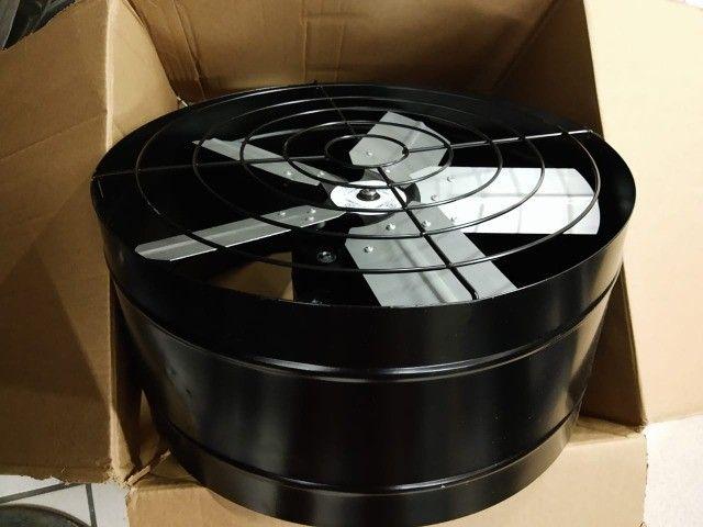 Exaustor 40cm Baixo Ruído + Chave Reversão Blindado E Bivolt - Foto 4