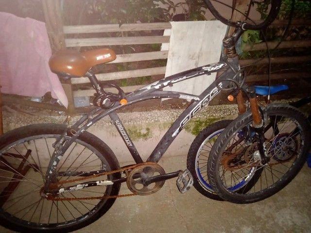 Bicicleta toda em aluminio - Foto 2
