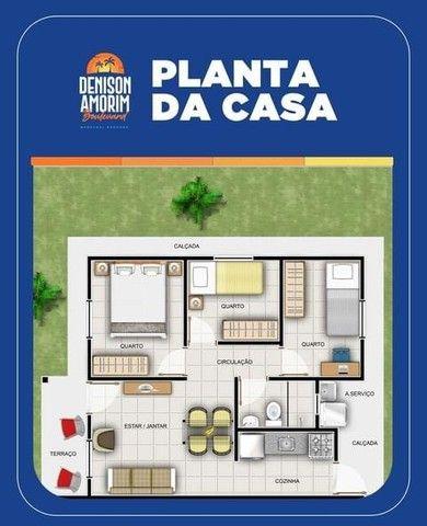vendo casas no Denison Amorim- casa 3 quartos! - Foto 5