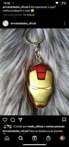 Chaveiro da Marvel - Foto 2