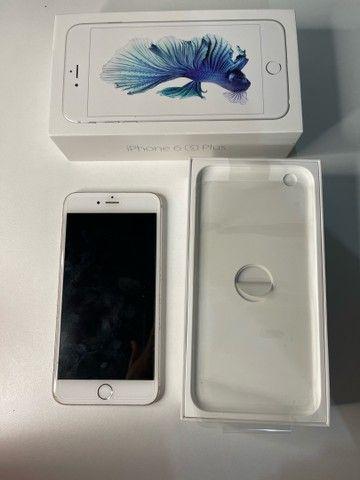 Vendo iPhone 6s Plus 64gb Prata/Silver/Branco