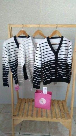 Casacos em tricot modal  - Foto 2