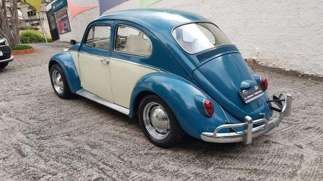 Fusca 1966 azul - Foto 8