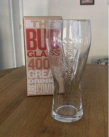 Copo original da Budweiser - vidro resistente