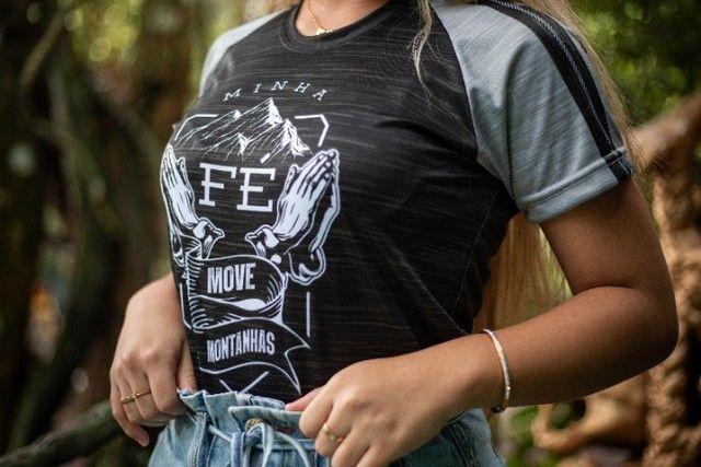 Camisa - Fé que move montanhas - Foto 3