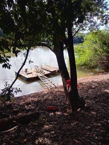 chacara na passagem da conceição em várzea grande com 50 M² de margem de rio - Foto 8