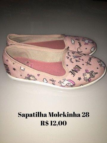 Roupas e calçados menina 3/4 anos - Foto 4
