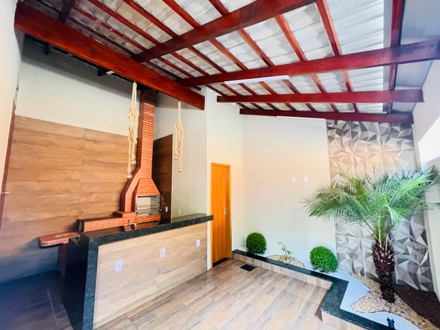 Casa três quartos em senador canedo com área gourmet  - Foto 4