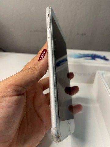 Vendo iPhone 6s Plus 64gb Prata/Silver/Branco - Foto 2