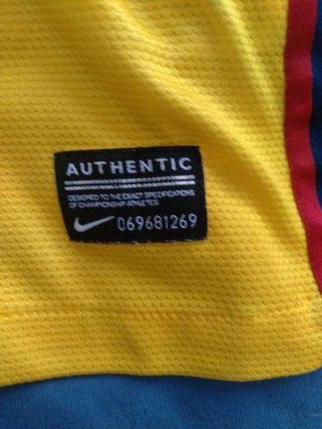 Camisa Barcelona Temporada 2012/2013 Tamanho P - Foto 3