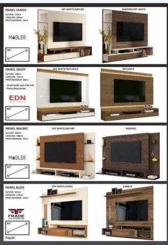 Painel para TV apartir de 200.00 novo da fabrica - Foto 4